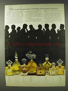 1978 Guerlain Perfume Ad - Eight Greatest Fragrances