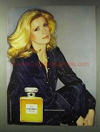 1978 Chanel No 5 Perfume Ad - Catherine Deneuve for Chanel