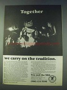 1978 NRA National Rifle Association Ad - Tradition