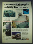 1978 Phillips 66 Oil Ad - Lead Companies in Patents