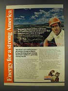 1978 Exxon Oil Ad - This Coal Mine