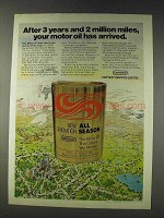 1978 Conoco Motor Oil Ad - Your Oil Has Arrived
