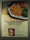 1978 Minute Rice Ad - Spanish Style Rice Recipe