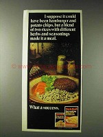1978 Uncle Ben's Long Grain & Wild Rice Ad - I Suppose