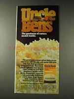 1978 Uncle Ben's Converted Rice Ad - Nature