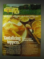 1978 Land O Lakes Ad - Butter with Maple-Bacon
