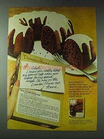 1978 Duncan Hines Devil's Food Pound Cake Ad