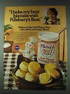 1978 Pillsbury's Best Self Rising Flour Ad - Biscuits