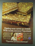 1978 Pillsbury Figurines Ad - Dieting Never So Sweet