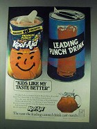 1978 Kool-Aid Tropical Punch Drink Ad - Taste Better