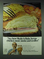 1978 Shake 'n Bake Ad - Chicken Moist and Tender