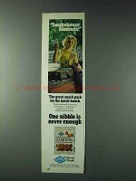 1978 Blue Diamond Smokehouse Almonds Ad - Snakck Pack