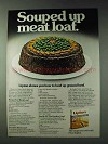 1978 Lipton Soup Ad - Souperior Meat Loaf