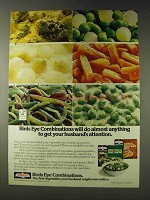 1978 Birds Eye Combinations Ad - Husband's Attention
