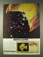 1978 Sunkist Lemons Ad - Splash Us on Fish
