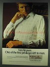 1978 Van Heusen Cotswold Casuals Ad - Few Privileges