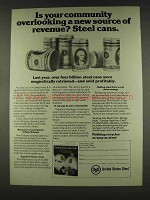 1978 United States Steel Ad - Your Community