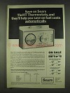 1978 Sears Thrif-T Thermostat Ad