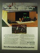 1978 Butler Farmsted Building Ad - So Much for Little