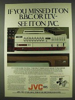 1978 JVC Video Home System Ad - Missed On BBC or ITV