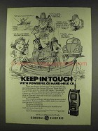 1978 General Electric 3-5975 Hand-Held CB Radio Ad