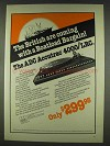 1978 ADC Accutrac 4000/LRC Turntable Ad - British