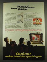 1978 Quasar Television Ad - Sharpest, Clearest Picture