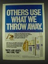 1978 L&M Cigarettes Ad  - What We Throw Away