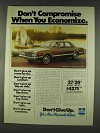1978 Plymouth Volere 4-Door Sedan Ad - Don't Compromise