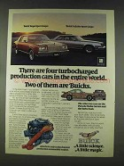 1978 Buick Regal Sport Coupe and LeSabre Sport Coupe Ad