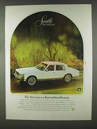 1979 Cadillac Seville Ad - Redefined Luxury
