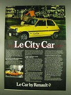 1978 Renault Le Car Ad - Le City car