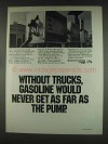1978 ATA American Trucking Association Ad - Gasoline