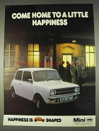 1978 Austin Mini Ad - Come Home to A Little Happiness