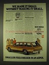 1978 Dodge Aspen Ad - We Made It Small