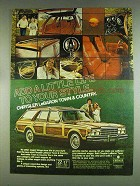 1978 Chrysler LeBaron Town & Country Wagon Ad
