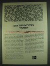 1978 Kodak Eastman Biological Stains Ad - Erythrocytes