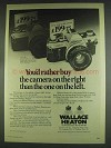 1978 Wallace Heaton Canon AE-1 Camera Ad
