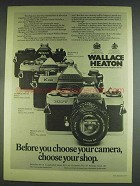 1978 Wallace Heaton Camera Ad - Minolta XD7