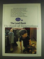 1978 The Land Bank Advertisement - Bank of Generations