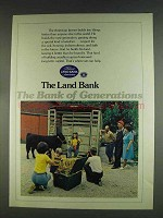 1978 The Land Bank Ad - Bank of Generations