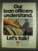 1978 Farm Credit Service Ad - Our Loan Officers