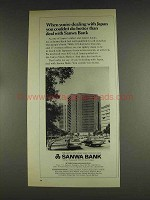 1978 Sanwa Bank Ad - When Dealing With Japan