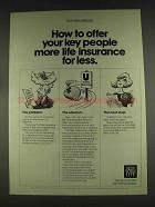 1978 New York Life Insurance Ad - Offer Key People