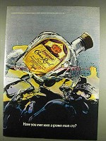 1978 Seagram's Crown Royal Ad - Seen a Grown Man Cry?