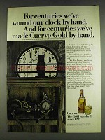 1978 Cuervo Gold Tequila Ad - Wound Our Clock by Hand