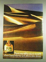1978 Grand Marnier Liqueur Ad - May Be Places on Earth