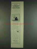 1978 Christian Brothers California Chablis Wine Ad