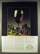 1978 Almaden Cabernet Sauvignon Wine Ad - Look For