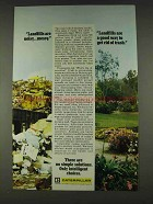 1978 Caterpillar Tractor Co. Ad - Landfills are Noisy